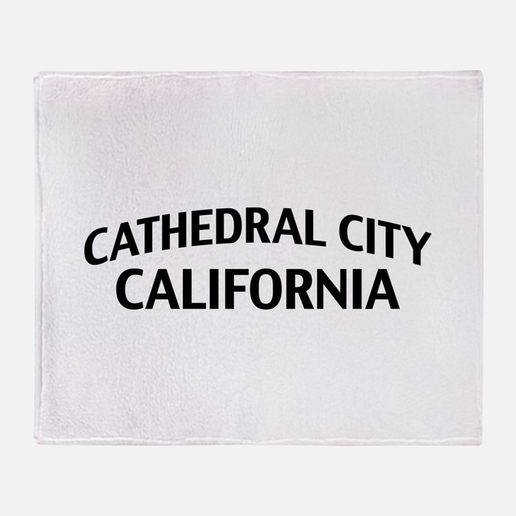 Cathedral City California Throw Blanket