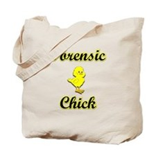 Forensic Chick Tote Bag