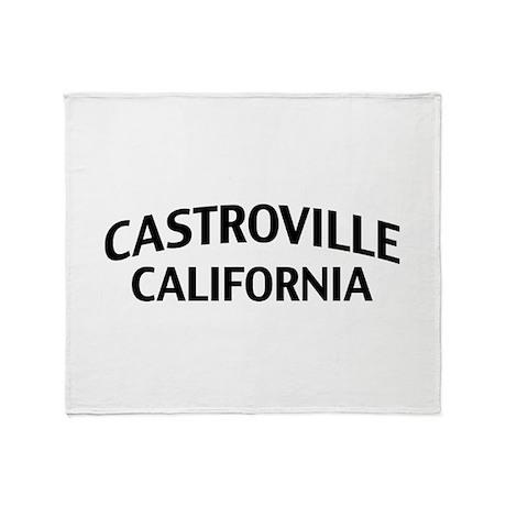 Castroville California Throw Blanket