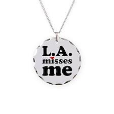 LA Misses Me Necklace
