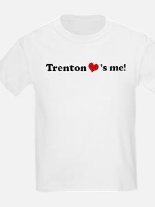 Trenton loves me Kids T-Shirt