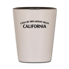 Casa de Oro-Mount Helix California Shot Glass