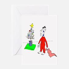 Christmas Sad Guy Greeting Card
