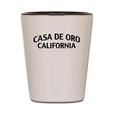 Casa de Oro California Shot Glass