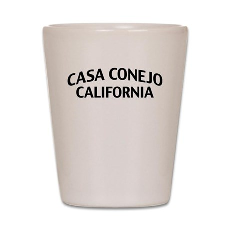 Casa Conejo California Shot Glass