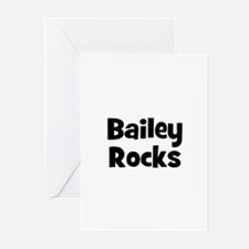 Bailey Rocks Greeting Cards (Pk of 10)