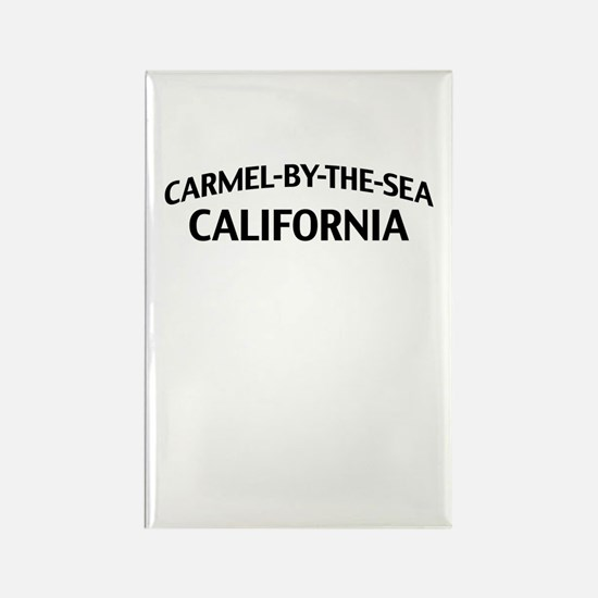 Carmel by the Sea California Rectangle Magnet