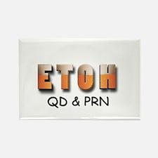 ETOH Rectangle Magnet (10 pack)