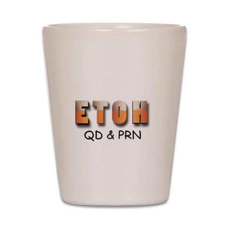 ETOH Shot Glass