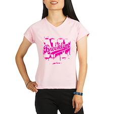 Brooklyn NY Graffiti Spray Performance Dry T-Shirt