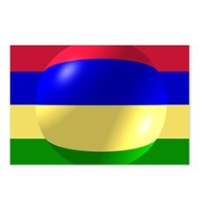 Mauritius Flag Design Postcards (Package of 8)