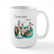 U Want Shat Mug