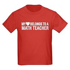 My Heart Math Teacher T