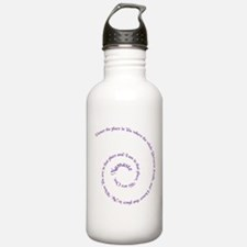 Namaste, greeting of honor. Water Bottle