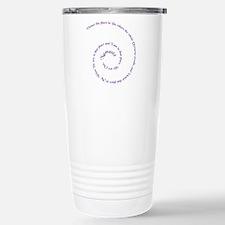 Namaste, greeting of honor. Travel Mug