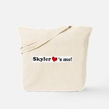 Skyler loves me Tote Bag