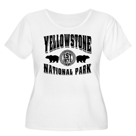 Yellowstone Established 1872 Women's Plus Size Sco
