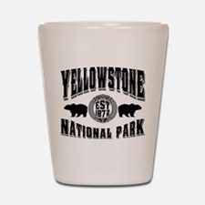 Yellowstone Established 1872 Shot Glass