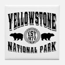 Yellowstone Established 1872 Tile Coaster