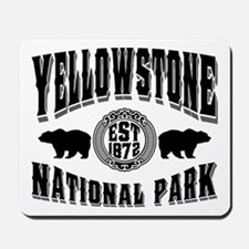 Yellowstone Established 1872 Mousepad