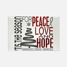 Christmas 1 Parkinson's Disease Rectangle Magnet