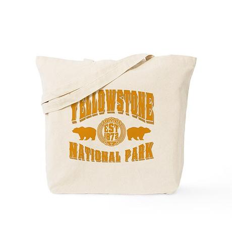 Yellowstone Established 1872 Tote Bag