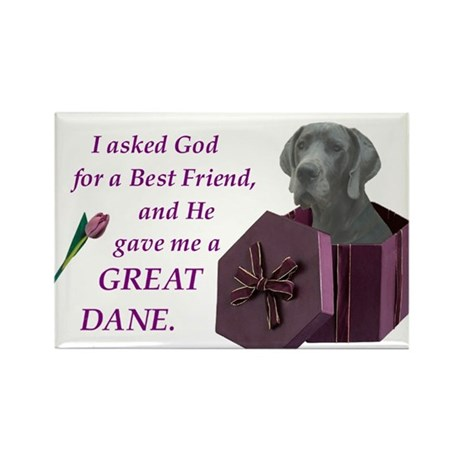 I Asked God -RecMag -GreatDane,Blue Magnets