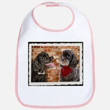 Cocker Spaniel Buddies Bib