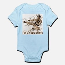 Martial Arts, Karate Kick Infant Creeper