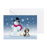 Beagles Greeting Cards (10 Pack)