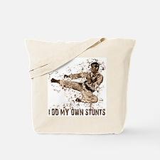 Martial Arts, Karate Kick Tote Bag