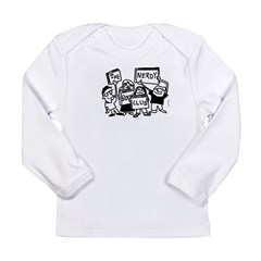 Nerd Horde Clothes Long Sleeve Infant T-Shirt