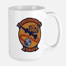 Naval Guided Missiles School Patch Coffee Mug