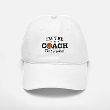 Basketball Coach Baseball Baseball Cap