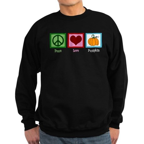Peace Love Pumpkin Sweatshirt (dark)