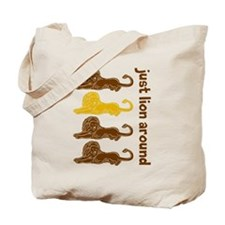 Lion Around Tote Bag