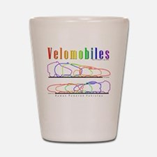 Velomobile Shot Glass