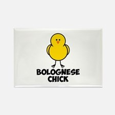 Bolognese Chick Rectangle Magnet (100 pack)