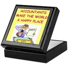 accountants Keepsake Box