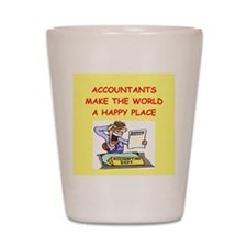 accountants Shot Glass