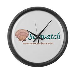 Seawatch Large Wall Clock