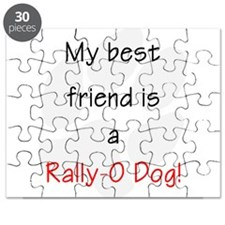 My best friend is a Rally-O dog Puzzle