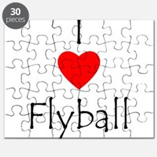 I Love Flyball Puzzle