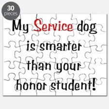 My Service Dog is Smarter Puzzle