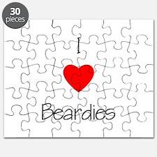 I Love Beardies Puzzle