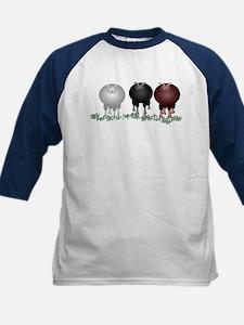 Baa Baa Baa Kids Baseball Jersey