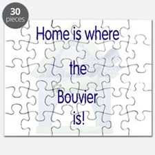 Home is where the Bouvier is Puzzle