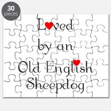 Loved by an Old English Sheep Puzzle