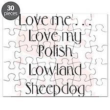 Love Me...Love My Polish Lowl Puzzle