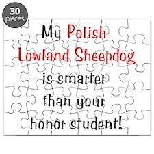 My Polish Lowland Sheepdog is Puzzle